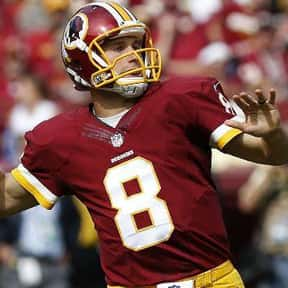 Kirk Cousins is listed (or ranked) 7 on the list The Best Washington Redskins Quarterbacks of All Time