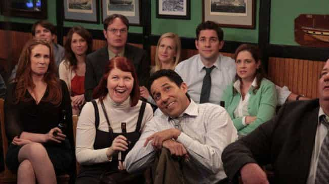 The Office is listed (or ranked) 2 on the list 15 Reasons Why The 2004-2005 TV Season Was The Greatest Year of TV Ever