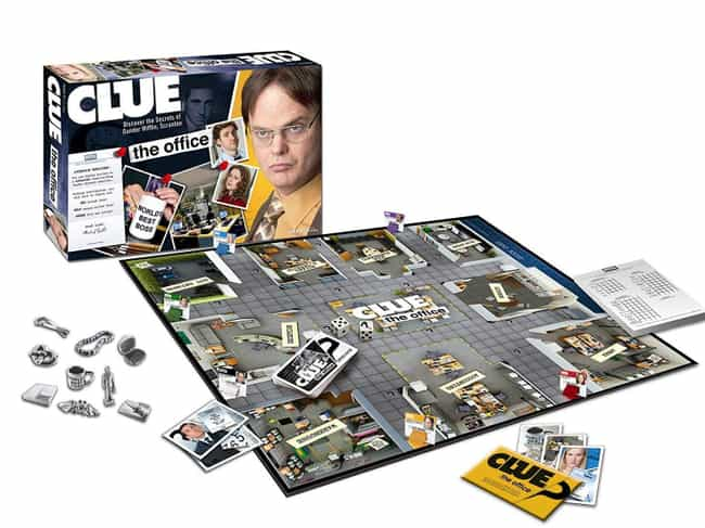 The Office is listed (or ranked) 4 on the list The Best Editions of Clue