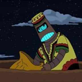 Kwanzaabot is listed (or ranked) 17 on the list The Funniest Robots of Futurama