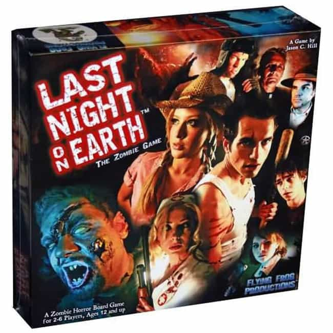 Last Night on Earth: The Zombi... is listed (or ranked) 3 on the list The Scariest Board Games To Play With Your Friends
