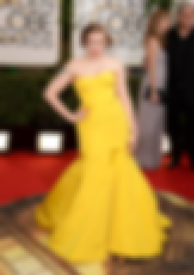 Lena Dunham is listed (or ranked) 4 on the list The Worst Golden Globe Red Carpet Fashions of 2014