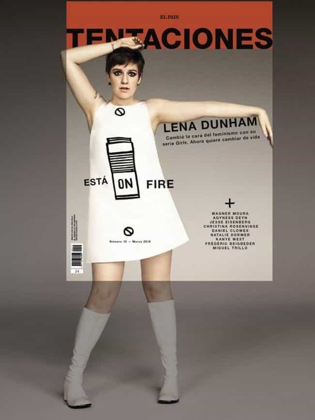 Lena Dunham is listed (or ranked) 3 on the list 13 Famous Women Who Called Out Magazines And Media For Re-Touching Their Bodies