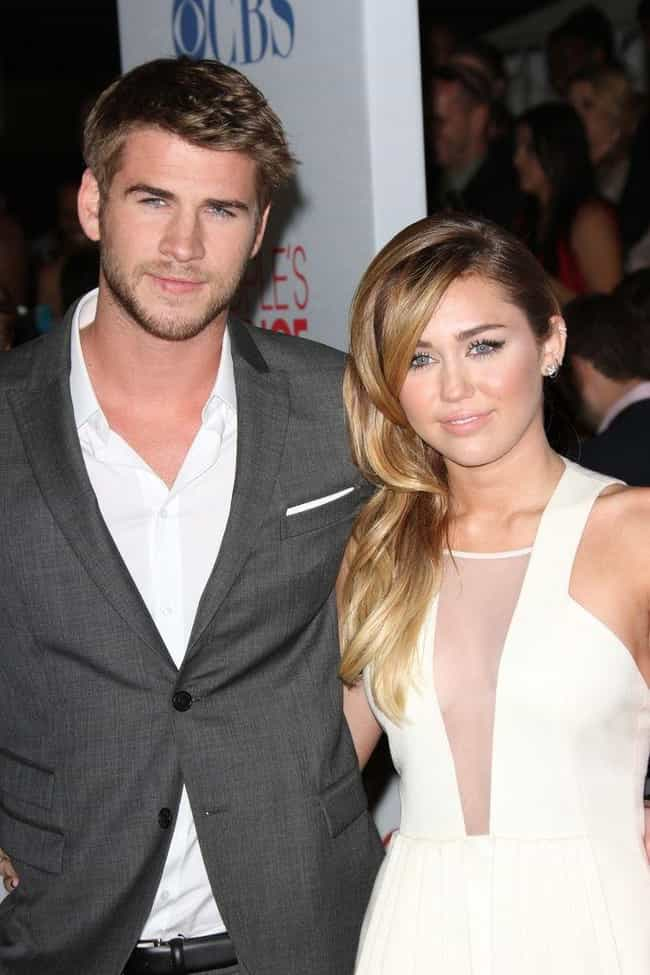 Liam Hemsworth is listed (or ranked) 3 on the list Miley Cyrus's Loves & Hookups