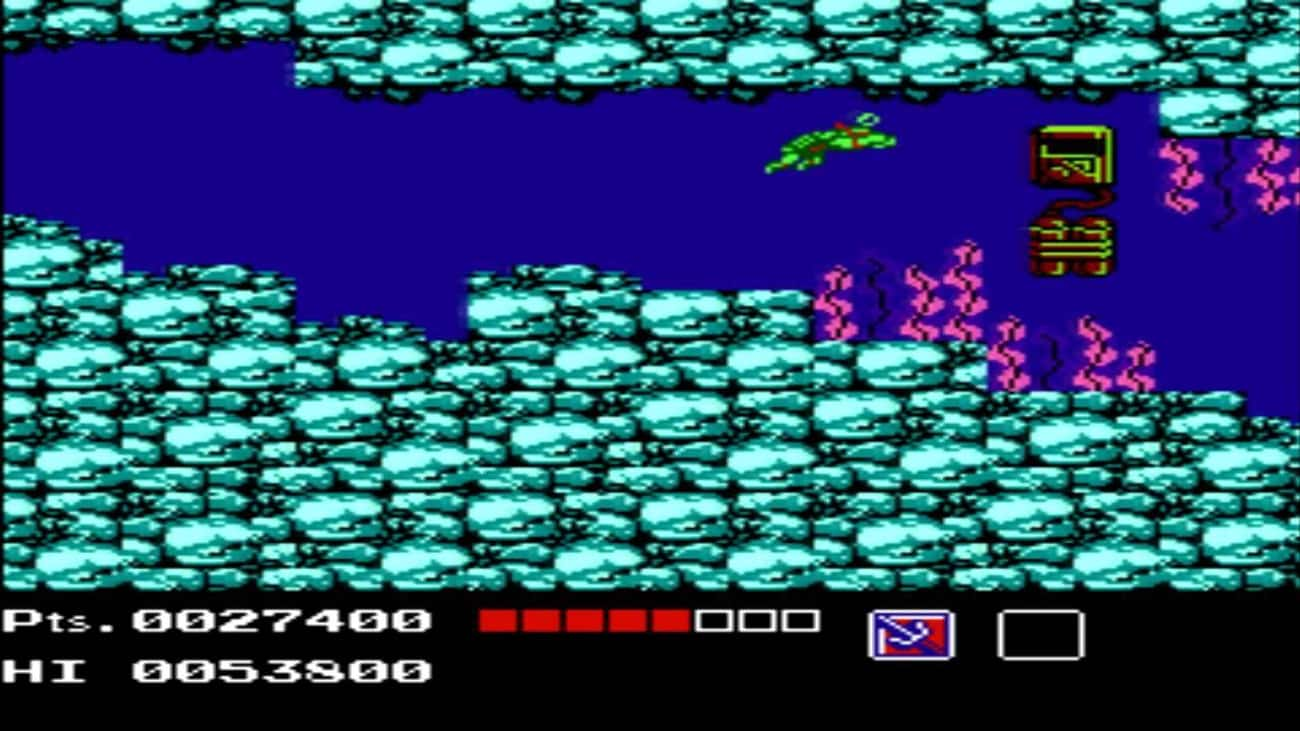Teenage Mutant Ninja Turtles is listed (or ranked) 3 on the list 20 Classic NES Games That Are So Mind-Numbingly Difficult They're Practically Unbeatable