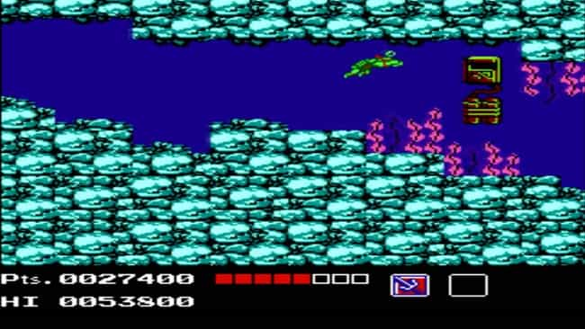 Teenage Mutant Ninja Tur... is listed (or ranked) 3 on the list 20 Classic NES Games That Are So Mind-Numbingly Difficult They're Practically Unbeatable