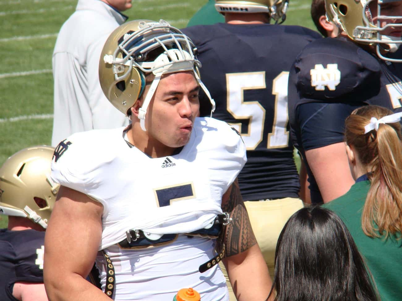 Manti Te'o is listed (or ranked) 1 on the list The Most Famous Athletes Who Are Eagle Scouts