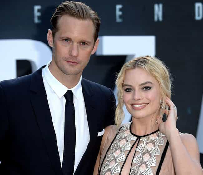 Margot Robbie is listed (or ranked) 3 on the list Alexander Skarsgård Loves and Hookups