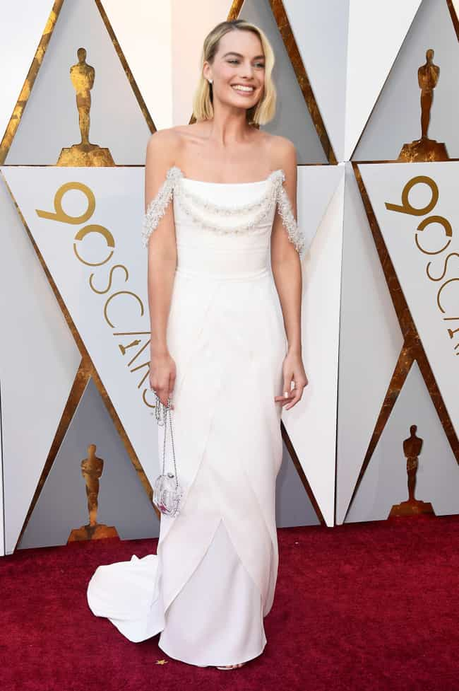 Margot Robbie is listed (or ranked) 1 on the list Best Dressed Celebs At The 2018 Oscars