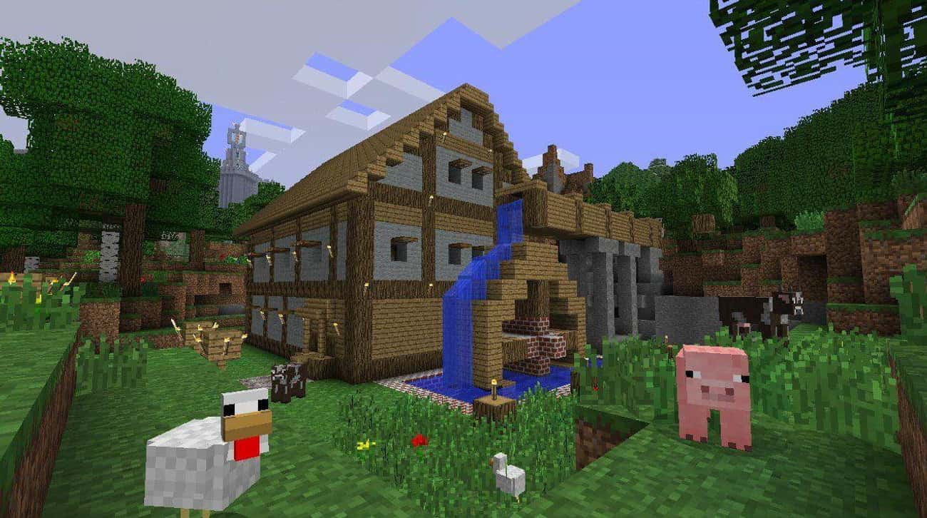Minecraft is listed (or ranked) 4 on the list 15 Games You Need To Play If You Love 'RuneScape'