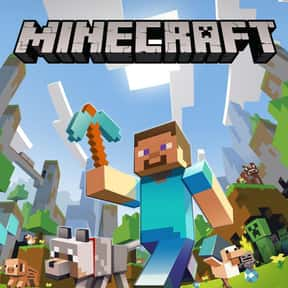 Minecraft is listed (or ranked) 1 on the list The Most Popular Video Games Right Now