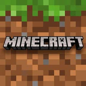 Minecraft is listed (or ranked) 2 on the list The Most Popular Open-World Video Games Right Now