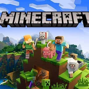 Minecraft is listed (or ranked) 1 on the list The Most Popular Sandbox Video Games Right Now