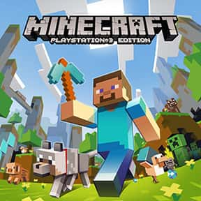 Minecraft is listed (or ranked) 2 on the list The Best PS4 Games For Girls