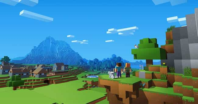Minecraft is listed (or ranked) 2 on the list The Best Video Games to Play When You're High