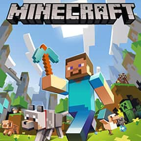 Minecraft is listed (or ranked) 2 on the list The Most Popular PC Games Right Now