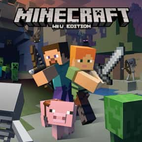 Minecraft: Wii U Edition is listed (or ranked) 14 on the list The Most Popular Wii U Games Right Now