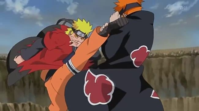 Naruto Shippuden Invasion Of Pain Arc