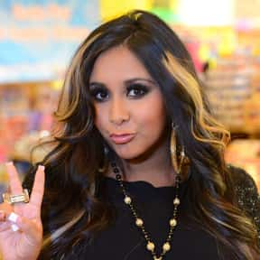 "Nicole ""Snooki"" Polizzi is listed (or ranked) 17 on the list List of Famous TV Personalities"