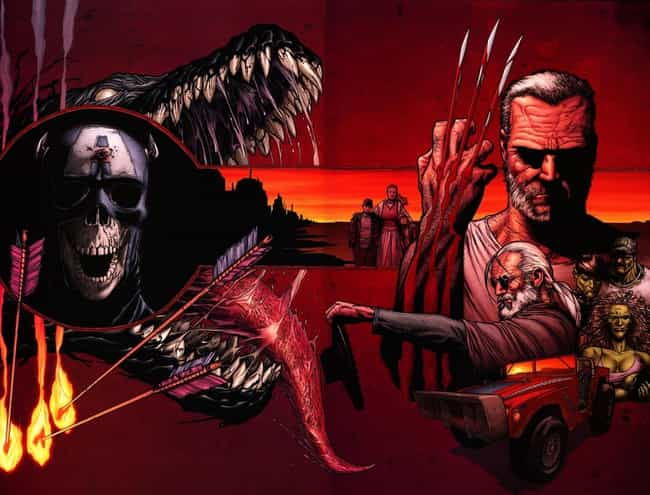 Old Man Logan is listed (or ranked) 2 on the list Marvel's Best Alternate Universes & Timelines