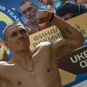 Oleksandr Usyk is listed (or ranked) 2 on the list The Best Cruiserweight Boxers of All Time