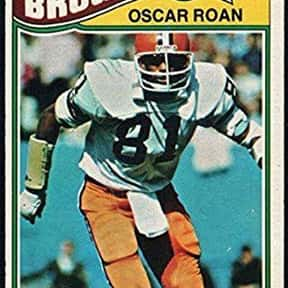 Oscar Roan is listed (or ranked) 17 on the list The Best Cleveland Browns Tight Ends Of All Time