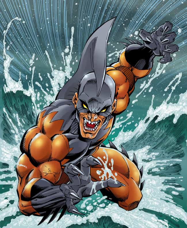 Tiger Shark is listed (or ranked) 2 on the list The Greatest Foes of Namor the Sub Mariner
