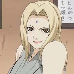 Tsunade is listed (or ranked) 9 on the list The Most Attractive Anime Girls of All Time