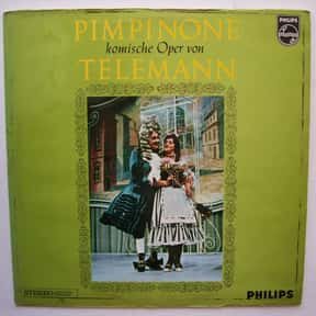 Pimpinone is listed (or ranked) 24 on the list List of Comic opera Operas