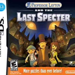 Professor Layton and the Last  is listed (or ranked) 7 on the list The Best Professor Layton Games