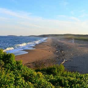 Reid State Park is listed (or ranked) 9 on the list The Best Beaches in New England