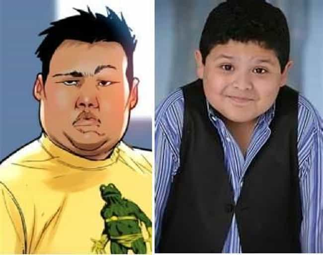 Rico Rodriguez is listed (or ranked) 5 on the list Who Should Be in a Miles Morales Spider-Man Film?
