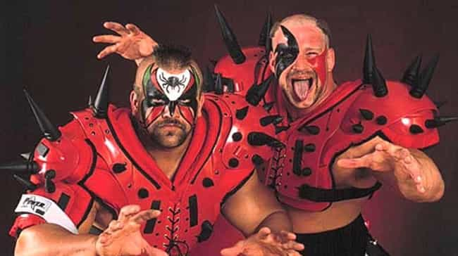The Road Warriors is listed (or ranked) 2 on the list The Best Face Paint in Wrestling History