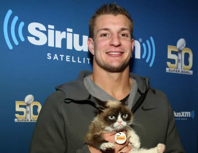 Rob Gronkowski is listed (or ranked) 3 on the list The Best Athletes Who Retired in 2019