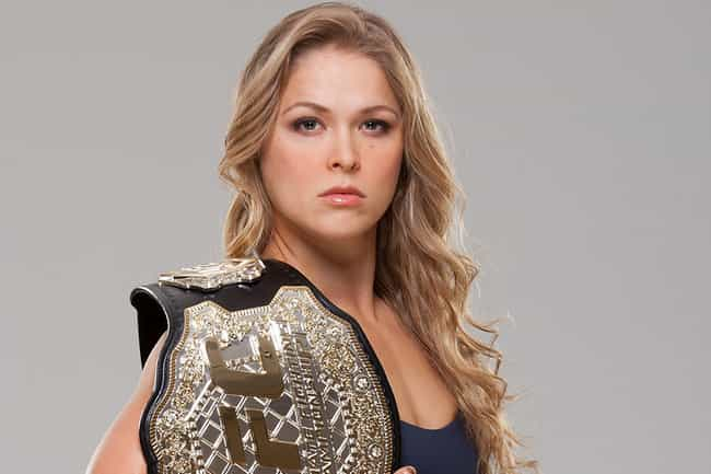 Ronda Rousey is listed (or ranked) 4 on the list The Best Athletes of 2014