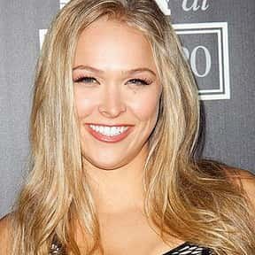 Ronda Rousey is listed (or ranked) 14 on the list Who Was America's Girlfriend in 2015?