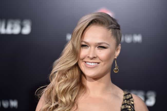 Ronda Rousey is listed (or ranked) 4 on the list Celebrities You Could Actually Meet on Tinder