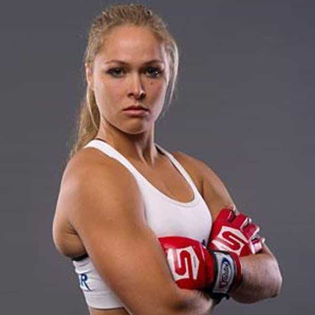 Ronda Rousey is listed (or ranked) 2 on the list The Top Female MMA Fighters