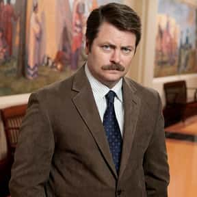 Ron Swanson is listed (or ranked) 4 on the list Fictional Political Candidates You'd Cast Your Ballot For