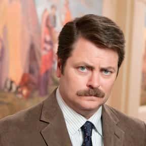 Ron Swanson is listed (or ranked) 13 on the list The Greatest Rebels In TV History