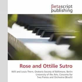 Rose and Ottilie Sutro