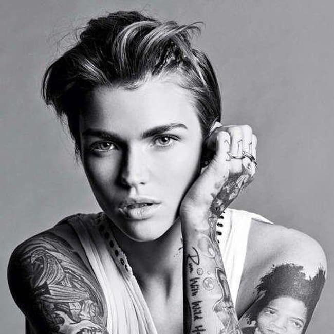 Ruby rose is listed or ranked 4 on the list 30 famous lesbian models