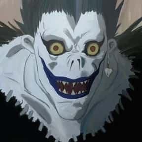 Ryuk is listed (or ranked) 3 on the list The Best Death Note Characters