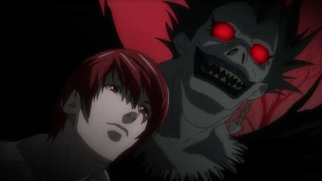 Ryuk is listed (or ranked) 2 on the list 13 Anime Characters Who Could Probably Beat Goku