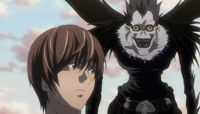 Ryuk is listed (or ranked) 4 on the list 15 Anime Characters Who Are Nearly Impossible To Kill