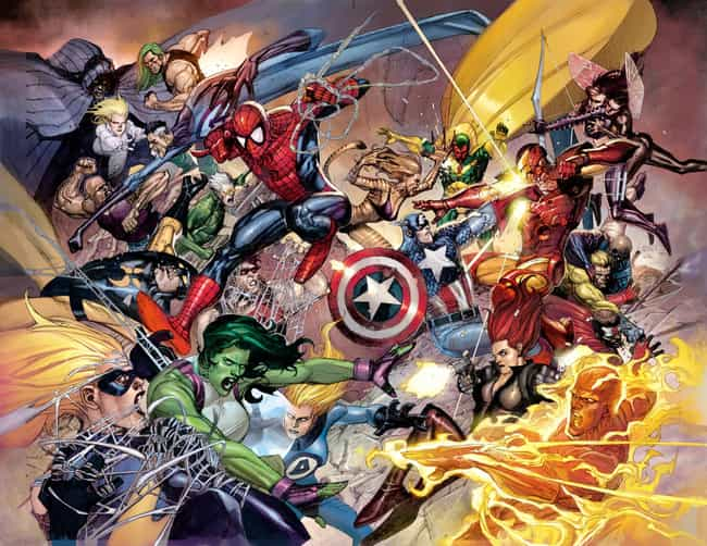 Civil War is listed (or ranked) 3 on the list The Best Marvel Crossover Events Ever