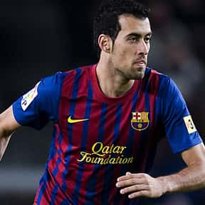Sergio Busquets is listed (or ranked) 11 on the list The Best Soccer Players from Spain