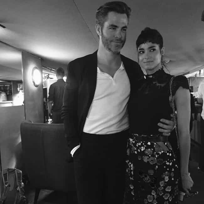 Sofia Boutella is listed (or ranked) 2 on the list Chris Pine Loves and Hookups