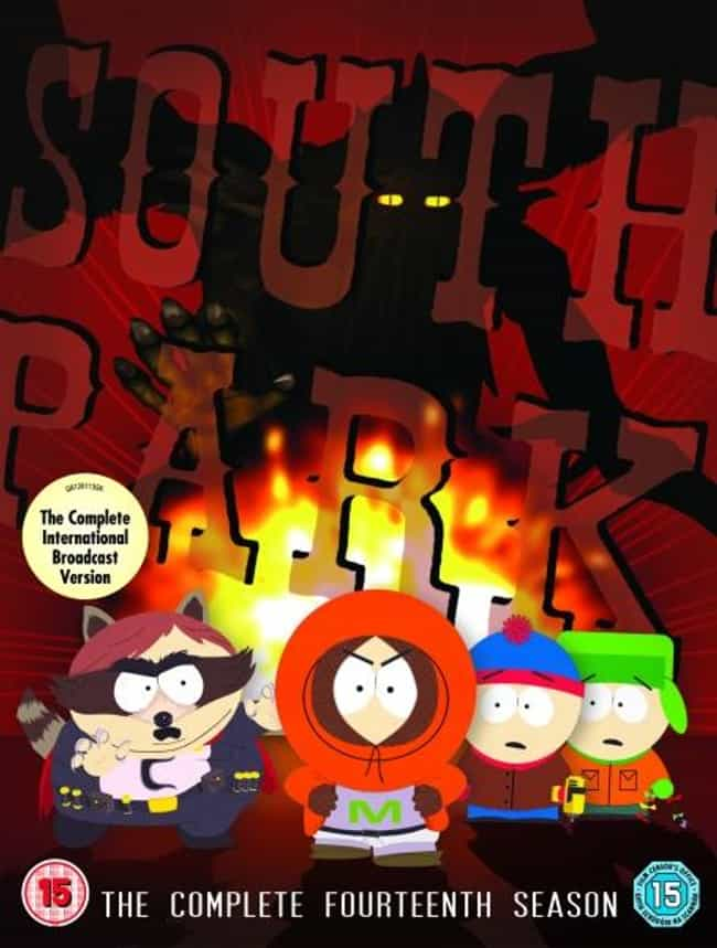 South Park - Season 14 ... is listed (or ranked) 6 on the list The Best Seasons of 'South Park'