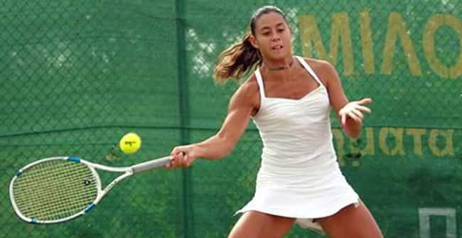 Stamatia Fafaliou is listed (or ranked) 3 on the list The Best Tennis Players from Greece